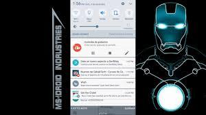 android notificación de whatsapp al puro estilo iron man