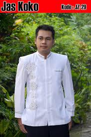 desain jas koko model jas koko putih elegan terbaru busanamuslimpria com