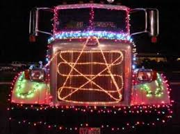 parade of lights chico west hawaii concrete mixer trucks in 2010 kailua kona christmas