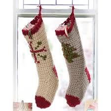 20 free crochet christmas stocking patterns guide patterns