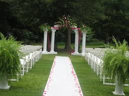 cheap backyard wedding ideas ideas 16 outdoor wedding ceremony decorations cheap backyard