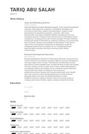 Ses Resume Examples by Sales And Marketing Director Resume Samples Visualcv Resume
