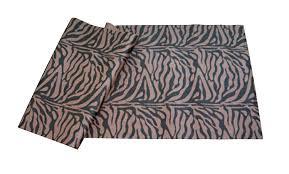 amazon com j fit tiger print yoga mat brown black sports