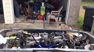 subaru wrx engine block 04 subaru wrx motor install youtube