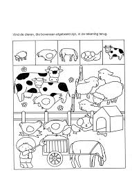 free printable farm worksheet for kids crafts and worksheets for