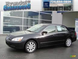 2006 black honda accord 2006 honda accord ex l v6 sedan in nighthawk black pearl 070205