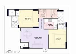 House Planer by 1300 Sq Ft House Plans Lovely Bharat City Floor Plan 3bhk Flats In