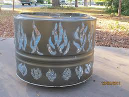 Making Fire Pit From Washer Tub - phoenix fire pit new dryer drum firepit