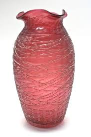 Antique Art Glass Vases 157 Best Threaded Glass Images On Pinterest Glass Vase Glass