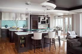 stone countertops kitchen islands with stools lighting flooring