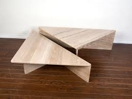 travertine coffee table square coffee table coffee table phenomenal travertine photo ideas two