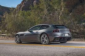 ferrari coupe rear 2017 ferrari gtc4lusso first drive review shooting brake motor
