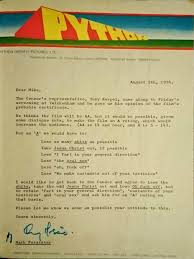 the hilarious censor negotiation letter from monty python and the