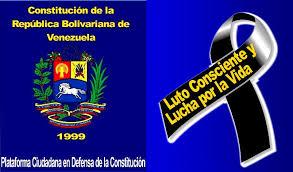 imagenes de venezuela en luto exigen al cne respuesta urgente para revertir la iniciativa