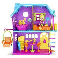 amazon polly pocket polly playhouse toys u0026 games