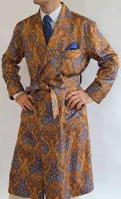 robes de chambre homme robe de chambre classique pour homme en 100 soie twill imprimee