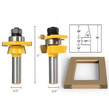Router Bits For Cabinet Doors Shaker Bevel Rail And Stile Glue Joint Router Bit For Cabinet Door