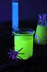 halloween drinks halloween cocktails that glow in the dark with a black light
