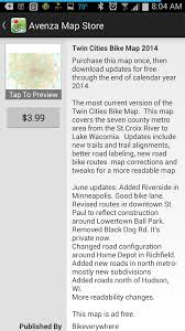 Map Store Mn Bike Trail Navigator Gps Enabled Maps Now Available On Mobile