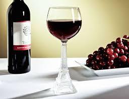 eiffel tower wine glass wine parties