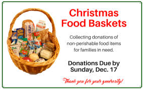 christmas food baskets christmas food baskets together in him known