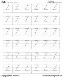 printable block letter dot to dots z coloring worksheets free