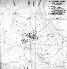 Map Pattern File 82nd Airborne Drop Pattern D Day 6 June 1944 Jpg