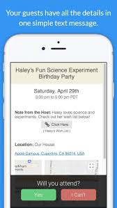 invitation maker app invitd invitation maker rsvp by text message by invitd
