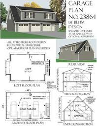 3 Car Garage Plans With Apartment Above 2 Car Over Sized Garage Offers Lots Of Extra Space And Attic Truss