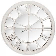 Horloge Murale Rouge by Murale Ronde Miroir Xxl D101cm Style Contemporain Avec Chiffres