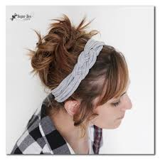 knotted headband knotted headband with tshirt yarn sugar bee crafts