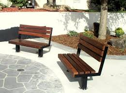Wooden Bench And Table Outdoor Memorial Bench Designed U0026 Built By Veterans