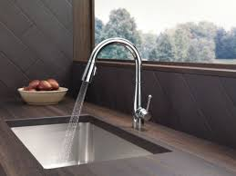 delta kitchen faucets warranty faucet com 9113 ar dst in arctic stainless by delta