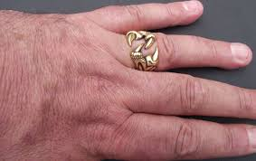 men s ring size men s highly polished bird claw jewellers bronze ring any size 20