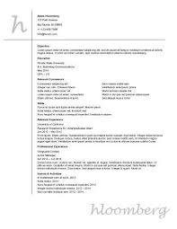 entry level resume examples u2022 hloom com