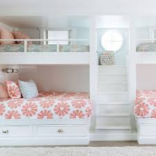 Girls Bedrooms With Bunk Beds Bunk Beds For Girls Rooms Wooden Furnitures Modern Desk Lamp