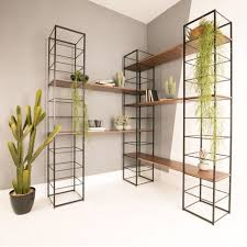 interior 20 inch wide shelves modular corner bookcase steel
