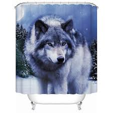 Wolf Curtains 30 Best Country Western Shower Curtains Images On Pinterest