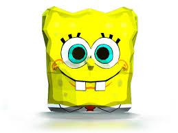 diy 3d spongebob paper mask