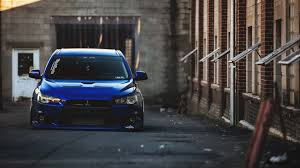 2014 Mitsubishi Lancer Evolution X Blue Mitsubishi Lancer Evolution X Tuning Wallpaper Http Www