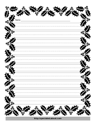 printable lined writing paper 8 best images of free printable writing borders free printable free printable writing paper with borders