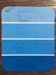 how to engage student senses with paint chip poetry teach for