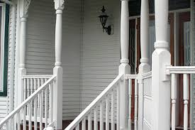 vinyl and composite railing gallery accent building products