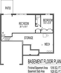 5 Bedroom Floor Plans With Basement 254 Best Plans House U0026 Images On Pinterest Home Plans Dream