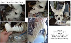 undead demon costume final by lizard of odd on deviantart