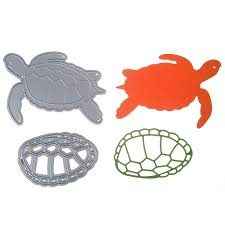 online get cheap turtle stencil aliexpress com alibaba group scrapbooking embossing diy steel carbon knife die turtle and turtle shell style cut metal die stencil