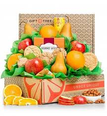 heart healthy gift baskets healthy choices fruit gift basket
