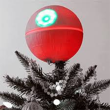How To Make A Christmas Tree Star For Top - death star christmas tree topper will make you switch to the dark