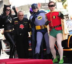 batman star adam west finally star hollywood walk fame