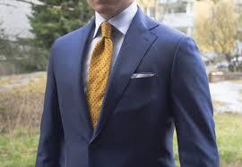 dark blue mto suit
